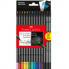 Lapis de Cor Faber Castell SuperSoft C/12 +2