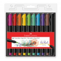 Caneta Faber Castell Supersoft Brush C/10