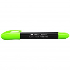 Marca Texto Faber Castell SuperSoft Gel Verde