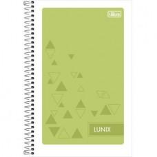 Caderneta Espiral Capa Flexível 1/8 Lunix 48 Folhas