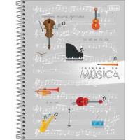 Caderno de Música Espiral Capa Dura Universitário Tilibra 80 F