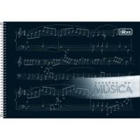 Caderno de Música Espiral Capa Dura P Tilibra 80 F