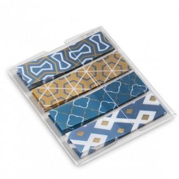 Marcador de Pagina Adesivo Flags Decor 403 45x12mm Maxprint C/80