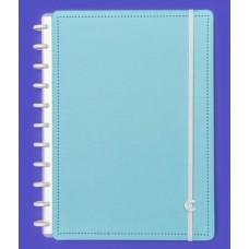 Caderno Inteligente Grande Azul Celeste