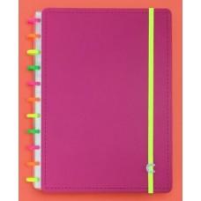 Caderno Inteligente Grande Neon Vibes