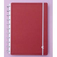 Caderno Inteligente Grande Vermelho Cereja
