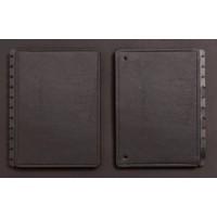 Capa e Contracapa Caderno Inteligente Grande Black Ecologico
