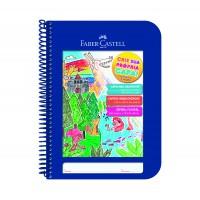 Caderno Faber Castell Criativo Azul