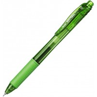 Caneta Pentel Energel Retratil 0.5 Verde Claro BLN105-SKX