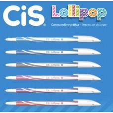 Caneta Cis Lollipop 0.5 Azul Claro