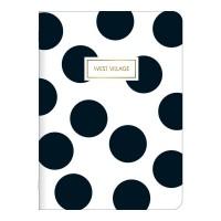 Caderno Grampeado Flexível West Village C/32 F
