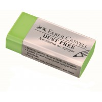 Borracha Faber Castell Dust Free Media Verde