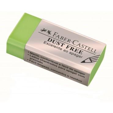 Borracha Faber Castell Dust Free Media Verde