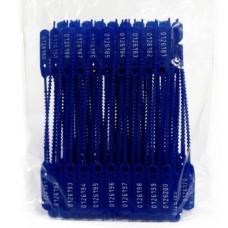 Lacre Numerado 16cm Azul C/100