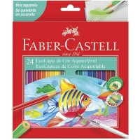 Lapis de Cor Faber Castell Aquarelavel C/24 120224G