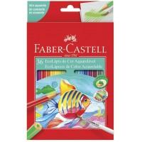 Lapis de Cor Faber Castell Aquarelavel C/36 120236G