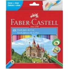 Lapis de Cor Faber Castell C/48 120148G