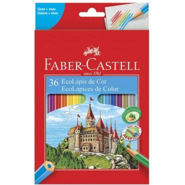 Lapis de Cor Faber Castell C/36 120136G