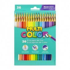 Lápis de Cor Multicolor C/36 Cores