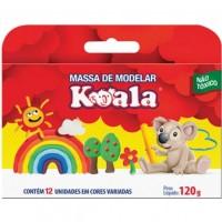 Massa de Modelar Koala C/12  Cores