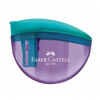 Apontador c/ Deposito Faber Castell Aquarius 3