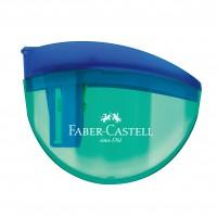 Apontador c/ Deposito Faber Castell Aquarius 4