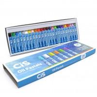 Giz Pastel Oleo Cis - 24 Cores