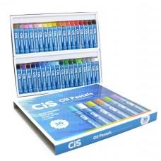 Giz Pastel Oleo Cis - 36 Cores