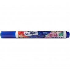 Caneta para Tecido Acrilpen Acrilex – Azul Turquesa