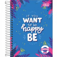 Agenda Tilibra Espiral Diaria Pepper Feminina 2021 B
