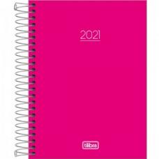 Agenda Tilibra Espiral Diaria Pepper Rosa 2021