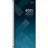 Agenda Tilibra Espiral Comercial Ideale 2021
