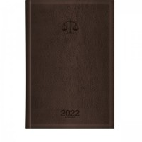 Agenda Executiva Advogado Marrom Tilibra 2022