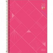 Agenda Tilibra Espiral de Mesa Spot Feminina 2022 A