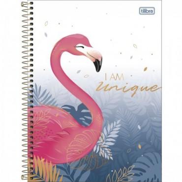 Caderno Colegial Capa Dura 10 Matérias 160 Folhas Aloha A