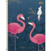 Caderno Universitário Capa Dura 12 Matérias 192 Folhas Aloha B