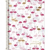 Caderno Universitário Capa Dura 12 Matérias 192 Folhas Aloha D