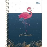 Caderno Universitário Capa Dura 16 Matérias 256 Folhas Aloha C