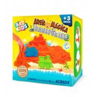 Areia Mágica Acrilex - Kit Transportes 200G