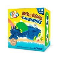 Areia Mágica Acrilex - Kit Carrinhos 200G
