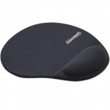 Mouse Pad com Apoio de Punho em Gel Maxprint Preto