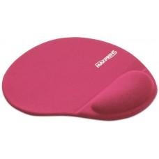 Mouse Pad com Apoio de Punho em Gel Maxprint Rosa
