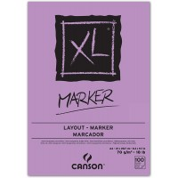 Bloco Canson XL Marker Layout A4 70g/m² 100 folhas