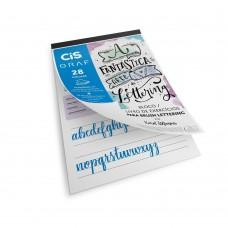 Livro Bloco de Lettering Cis Graf A4 180G (Brush)