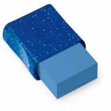 Borracha Faber Castell Vinil Glitz Azul 7024GLI