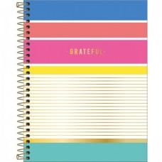 Caderno Colegial Capa Dura 10 Matérias 160 Folhas Be Nice D