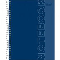 Caderno A4 Capa Dura 01 Matéria 80 Folhas 90G Notebook Icon Azul