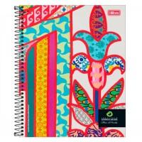 Caderno Universitário Capa Dura 10 Matérias 160 Folhas Rodrigo Mendes A