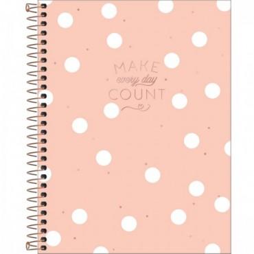 Caderno Colegial Capa Dura 10 Matérias 160 Folhas Soho A