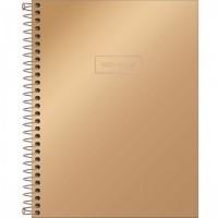 Caderno Colegial Capa Dura 10 Matérias 160 Folhas West Village Metalizado C